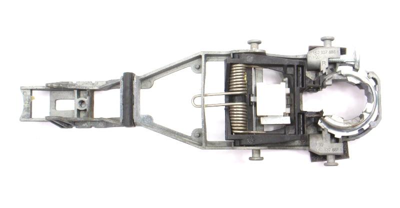 LH Exterior Door Handle Bracket 06-09 VW Rabbit Golf GTI MK5 - 1K0 837 886 A