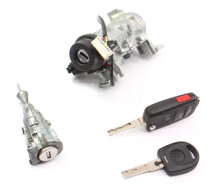 Lock Set Ignition Cylinder Door & Key VW Jetta Rabbit GTI MK5 . 1K0 905 851 B