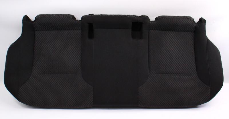 Rear Seat Lower Cushion 11-18 VW Jetta MK6 Sedan - Black Cloth
