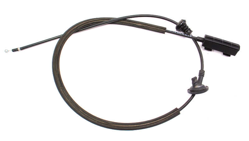 Hood Latch Release Cable End 11-18 VW Jetta Sedan MK6 - Genuine - 5C6 823 535