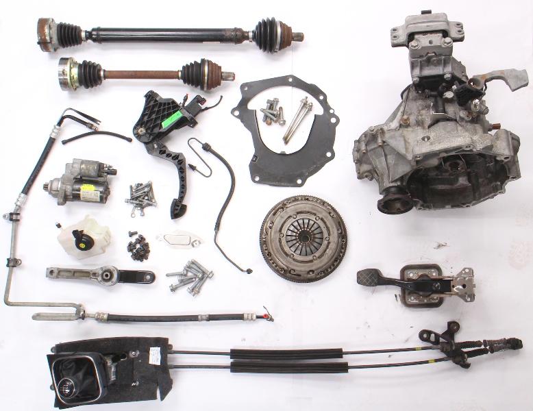 5 Speed Manual Transmission Swap Kit 11