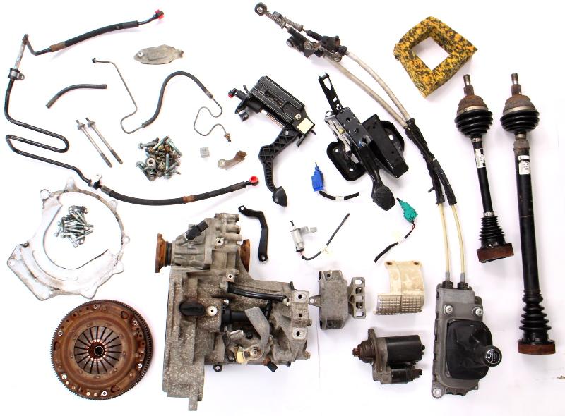 Manual Transmission Swap Parts Kit 99-05 VW Jetta Golf MK4 Beetle 02J 2.0 EGT