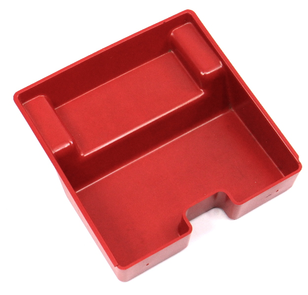 Front Ashtray Red Insert 93-99 VW Jetta Golf GTI Cabrio MK3 Mk3.5 - 1EM 857 232