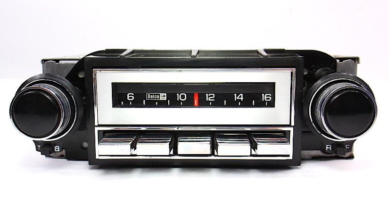 70's - 80's GM Delco AM Only Radio Pontiac GMC Chevrolet Oldsmobile 83BPBK1