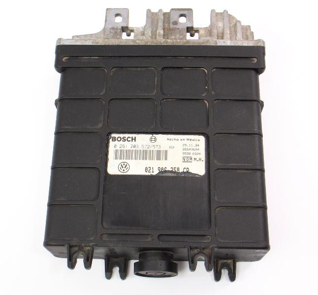 ECU ECM Engine Computer 93-95 VW Jetta GTI MK3 Corrado Calif ~ 021 906 258 CR