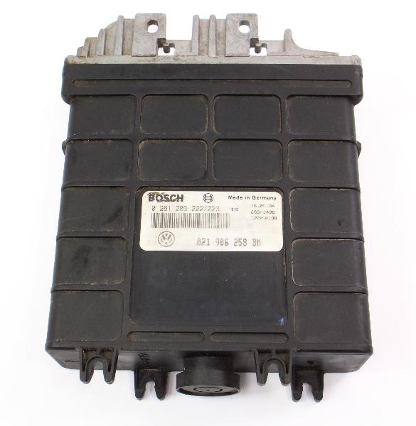 ECU ECM Engine Computer 93-95 VW Jetta GTI MK3 Corrado Fed - 021 906 258 BM