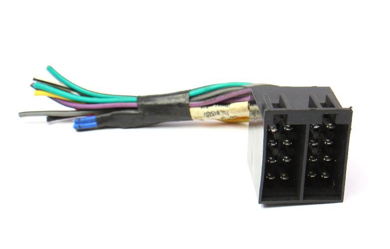 Radio Head Unit Install Wiring Harness Adaptor 93-99 VW Jetta Golf Cabrio MK3