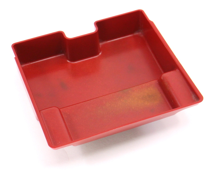 Front Ashtray Red Insert 93-99 VW Jetta Golf GTI Cabrio MK3 Mk3.5 / 1EM 857 232