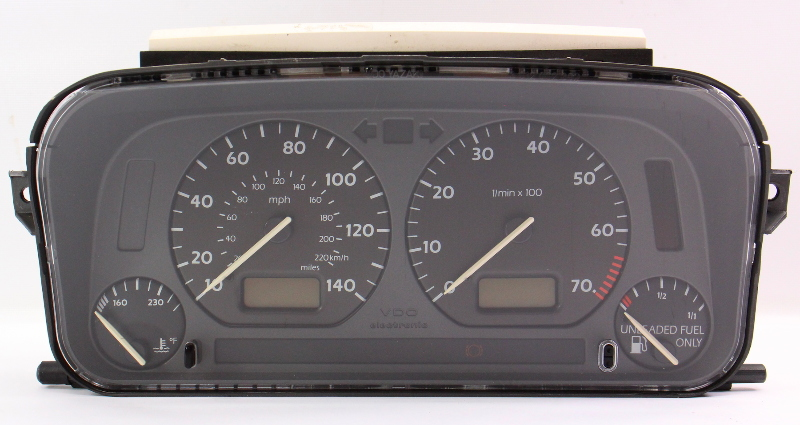 Early Bubble Instrument Gauge Cluster VW Jetta Golf Cabrio MK3 - 1HM 919 035 A