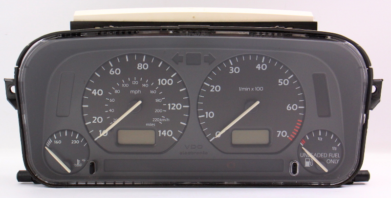 Early Bubble Instrument Gauge Cluster VW Jetta Golf Cabrio MK3 ~ 1HM 919 035 A