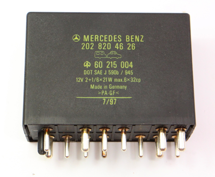 Hazard Defrost Turn Signal Relay 94-00 Mercedes W202 C230