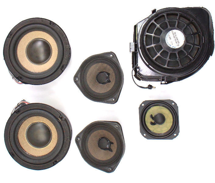Bose Door Deck Speakers Tweeters & Sub 1997 Mercedes W202 C280