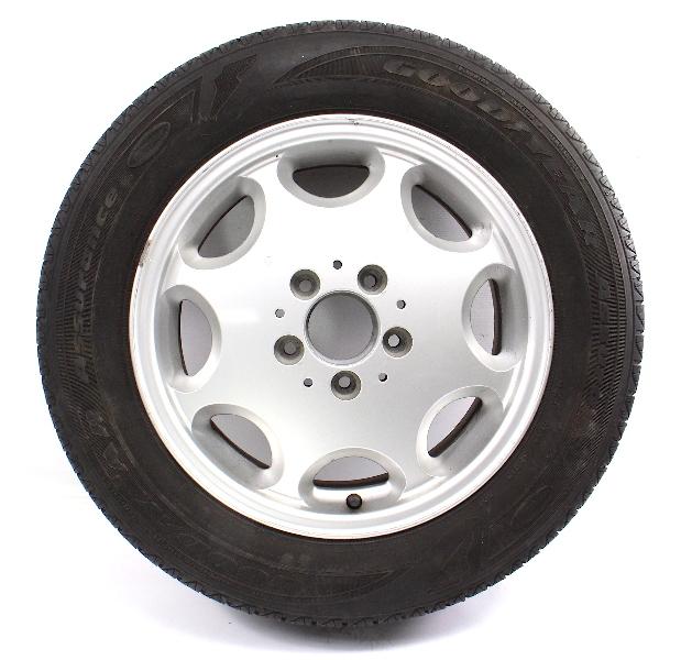 "Spare Wheel Tire 15"" x 6.5"" 5x112 Mercedes W202 C220 C230 C250D C280 2104010302"