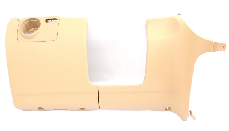 Lower Dash Knee Panel Driver 05-10 VW Jetta Rabbit MK5 Pure Beige - 1K1 858 367