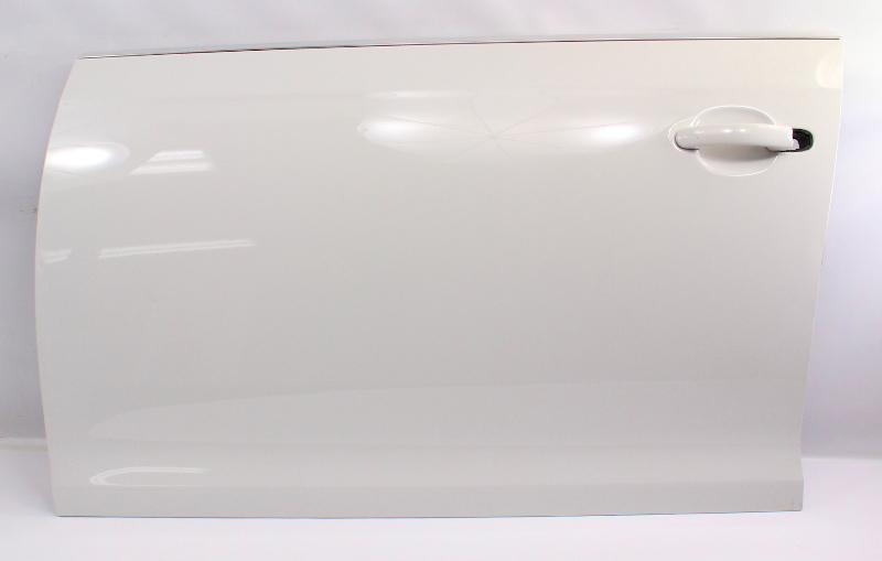 LH Driver Front Door Shell Skin 05-10 VW Jetta & Sportwagen MK5 LB9A Candy White