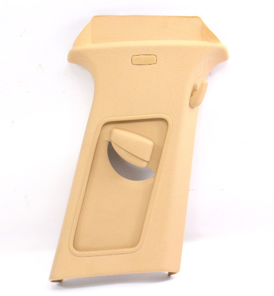 RH B Pillar Trim Cover Seat Belt Slider 05-10 VW Jetta MK5 Beige - 1K5 867 244 F