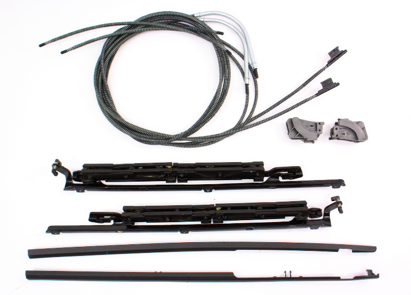 Panoramic Sunroof Repair Tracks Guides Cables 09-14 VW
