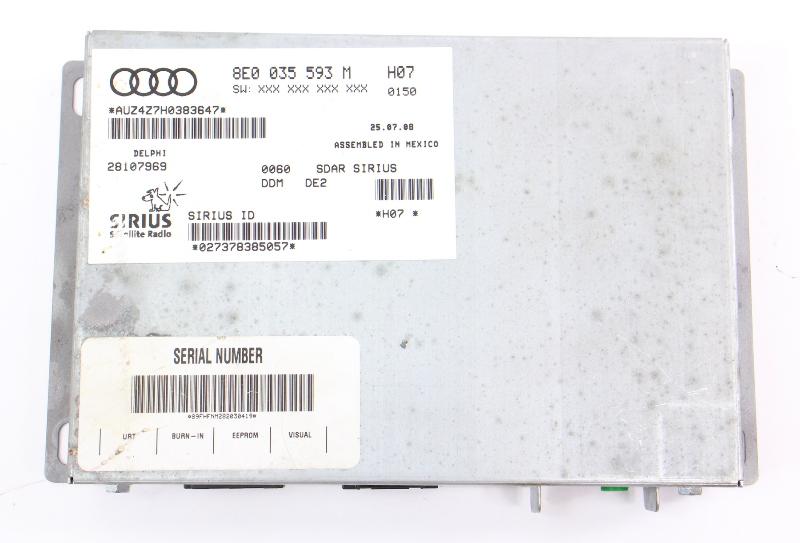 Sirius XM Radio Tuner Module VW Rabbit MK5 Passat Audi A3 A4 A6 ~ 8E0 035 593 M