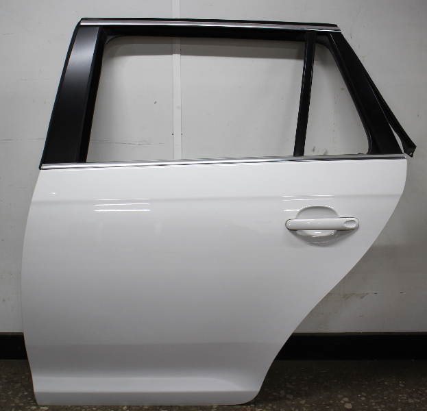 LH Rear Door Shell 09-14 VW Jetta Sportwagen Wagon MK5 MK6 LB9A White - Genuine
