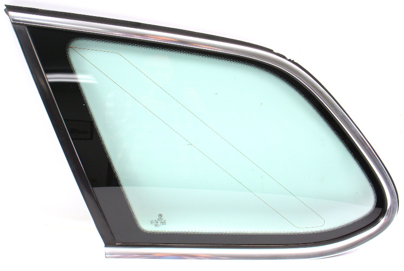 LH Rear Quarter Window Side Exterior Glass 09-14 VW Jetta Sportwagen Mk5 MK6