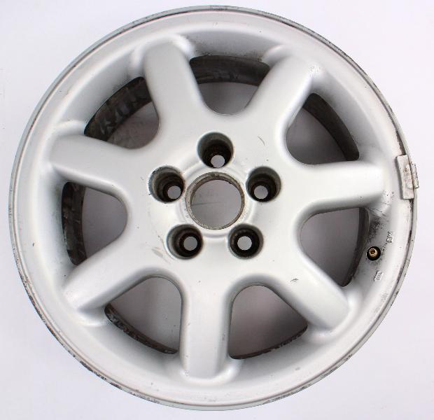 """15"""" BBS 15"""" Alloy Wheel Rim 96-99 VW Jetta GLX 5x100 VR6 GTI MK3 - 1HM 601 025 D"""