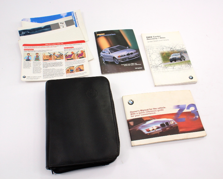 Owners Manual Operations Book & Case 2000 BMW Z3 - Genuine