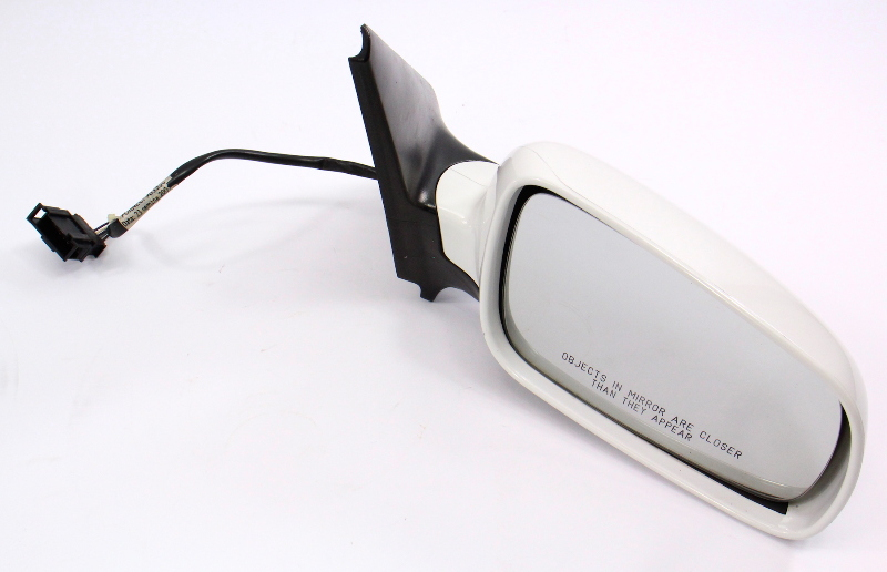 RH Exterior Side View Mirror 99-05 VW Jetta Golf GTI MK4 ~ LB9A White ~ Genuine