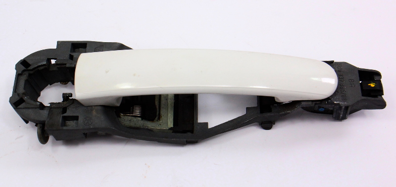 Exterior Door Handle 98-05 VW Passat B5 Jetta Golf MK4 LB9A White 3B0 837 885 6