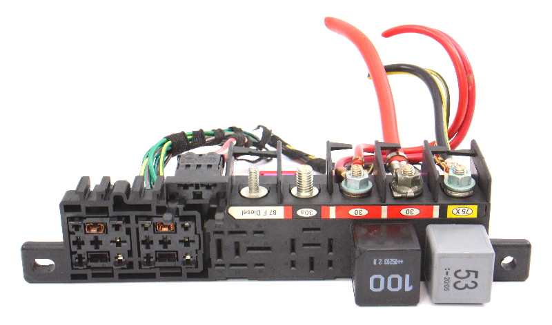 Under Dash Relay Wiring Panel Board 99-05 VW Jetta Golf GTI MK4 ~ 8L0 941 822
