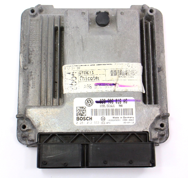 Ecu Ecm Engine Computer 05 07 Vw Jetta Golf Mk4 1 9 Tdi