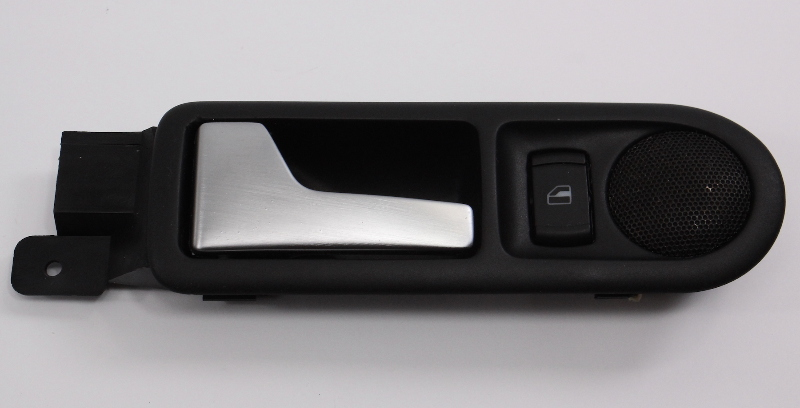 LH Rear Interior Door Pull Handle Brushed VW Jetta Golf GLI Mk4 - 1J4 839 113 C