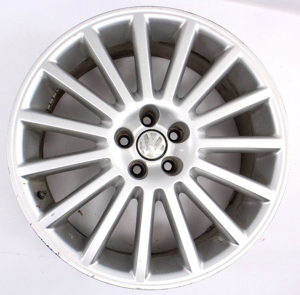 "One 18"" R32 Aristo Alloy Wheel Rim VW Golf MK4 20th AE Genuine - 1J0 601 025 BA"