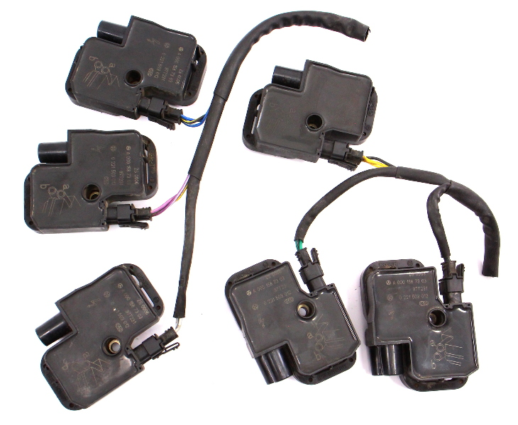 Ignition Coil & Pigtail Set Mercedes ML320 E320 CLK320 CLK55 CL500 A0001587303