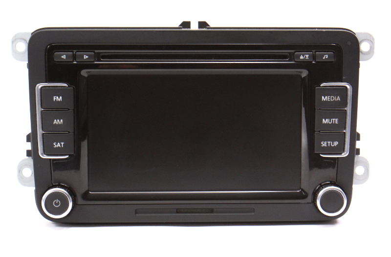 Head Unit Radio 6 CD Changer Sat 10-15 VW Jetta Golf GTI Mk6 - 1K0 035 180 AC