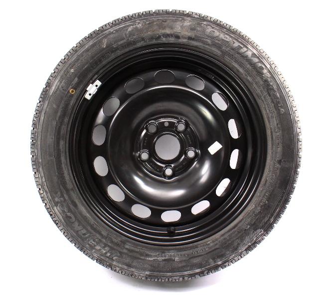 """16"""" Full Size Spare Steel Wheel Rim Tire 05-14 VW Jetta Rabbit MK5 Sportwagen"""