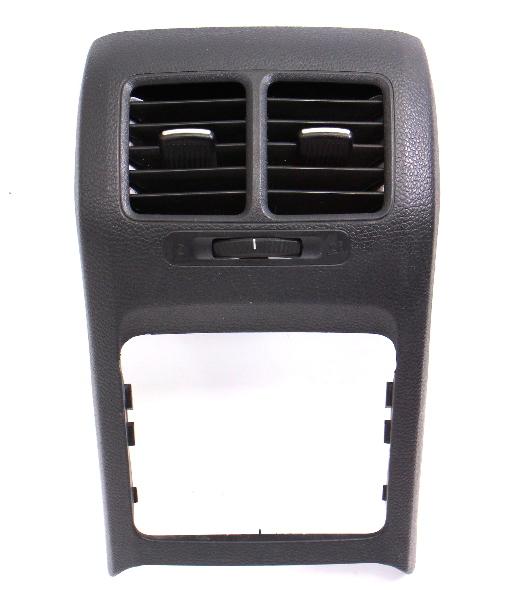 Rear Center Console Vents 05-10 VW Jetta Rabbit GTI MK5 Sportwagen 1K5 863 289 E