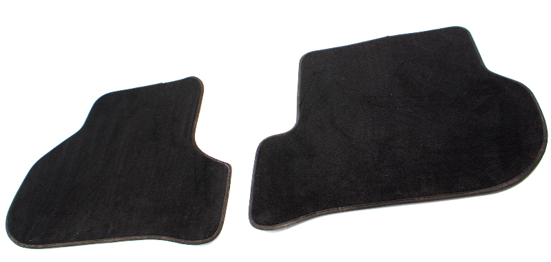 Rear Floor Carpet Mats 05-10 VW Jetta Rabbit GTI 09-14 Sportwagen MK5 - Genuine