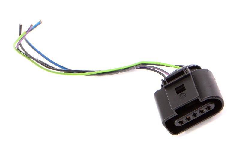 MAF Wiring Connector Pigtail 09-14 VW Jetta Golf MK6 TDI CJAA CBEA ~ 1J0 973 705