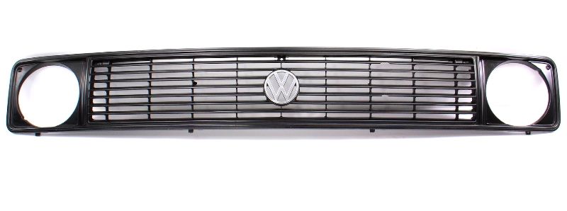 Upper Grill Grille 80-85 VW Vanagon T3 Westfalia Genuine - 251/255 853 652 A/B/C