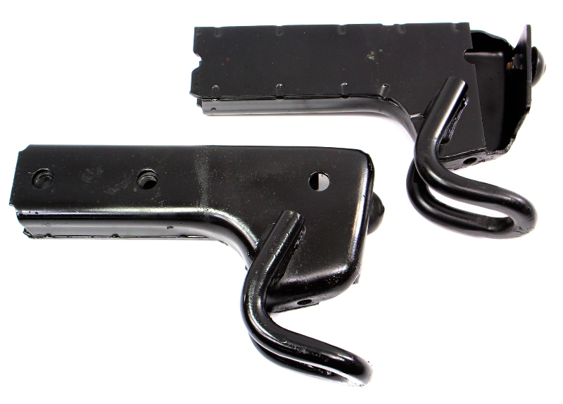 Rear Bumper Mounts Brackets 80-86 VW Vanagon T3 Transporter Westfalia - Genuine