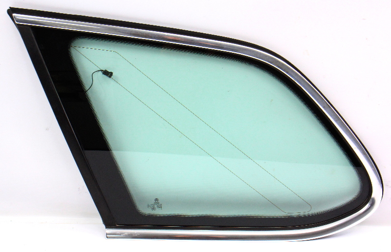 LH Rear Hatch Quarter Window Side Glass 09-14 VW Jetta Sportwagen 1K9 845 297 AB
