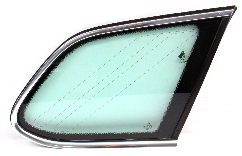 RH Rear Hatch Quarter Window Side Glass 09-14 VW Jetta Sportwagen 1K9 845 298 AJ