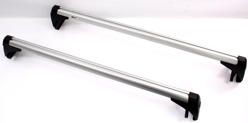 Roof Rack 06-14 VW Golf GTI MK5 MK6 Base Carrier Bars Set Genuine - 1K0 071 126