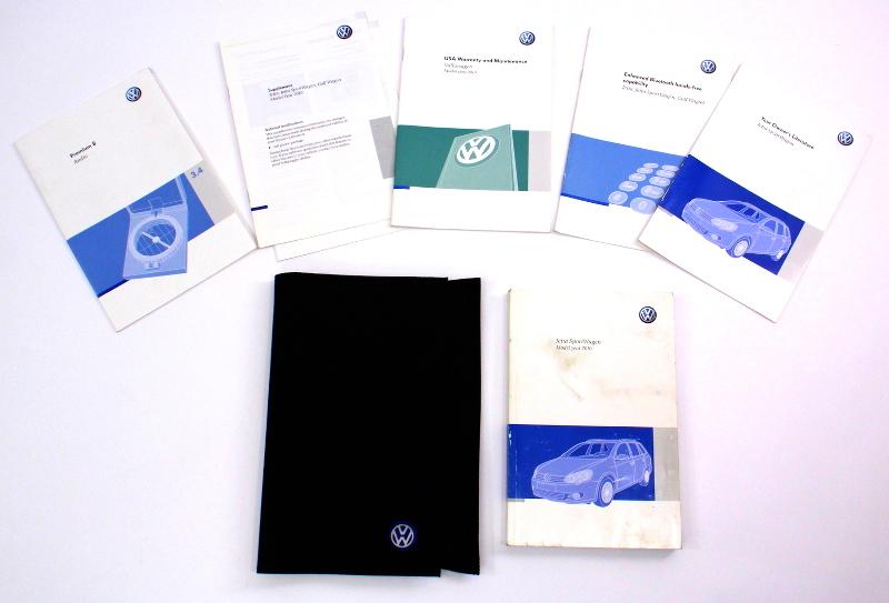 Owners Manual Operations Book 10 2010 VW Jetta MK6 Sportwagen - Genuine