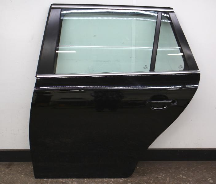 LH Rear Door Shell 09-14 VW Jetta Sportwagen Wagon MK5 MK6 L041 Black - Genuine