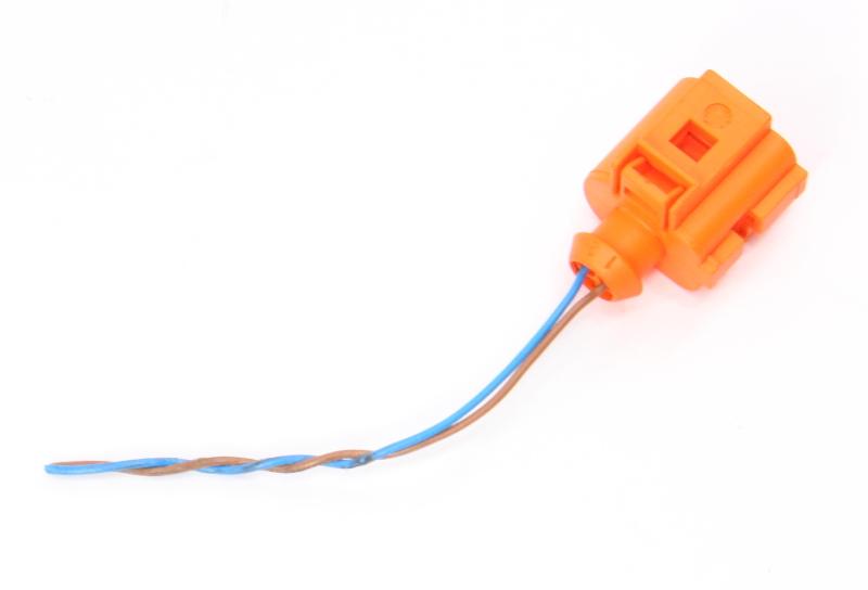 2 Pin Pigtail Wiring Plug 10-18 VW Jetta Golf GTI Mk6 Sportwagen - 1J0 973 702 C