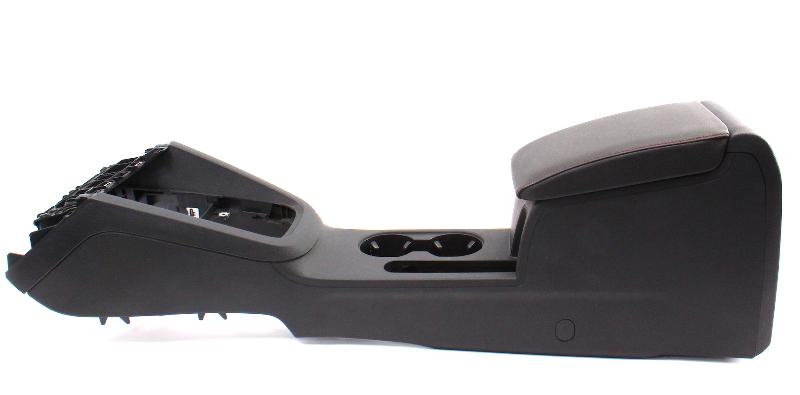 Red Stitched Arm Rest Center Console 11-18 VW Jetta GLI MK6 - 5C6 863 383 UT