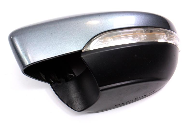 LH Side View Exterior Mirror Cap Turn Signal 11-18 VW Jetta MK6 Sedan LD7X Grey