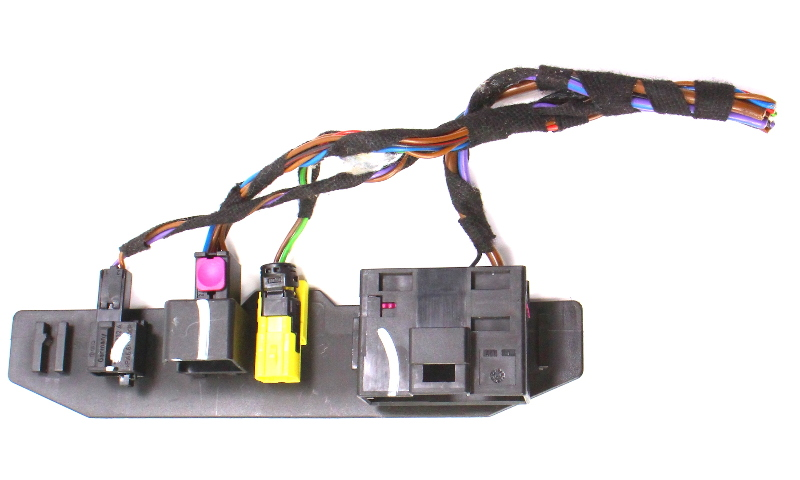 RH Heated Seat Wiring Harness Pigtail Plugs 11-14 VW Jetta MK6 Sedan ~ Genuine
