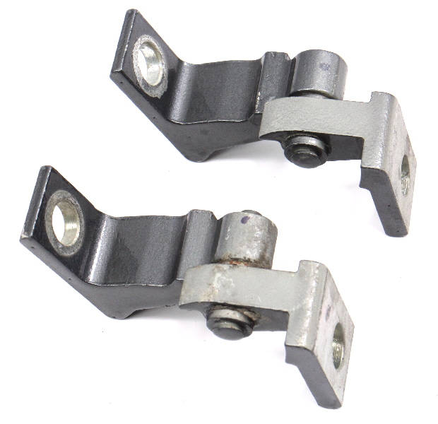 RH Door Hinges 11-18 VW Jetta MK6 Sedan LD7X - Genuine - 8K0 831 402 A / D